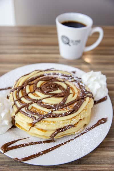 boston creme pancakes