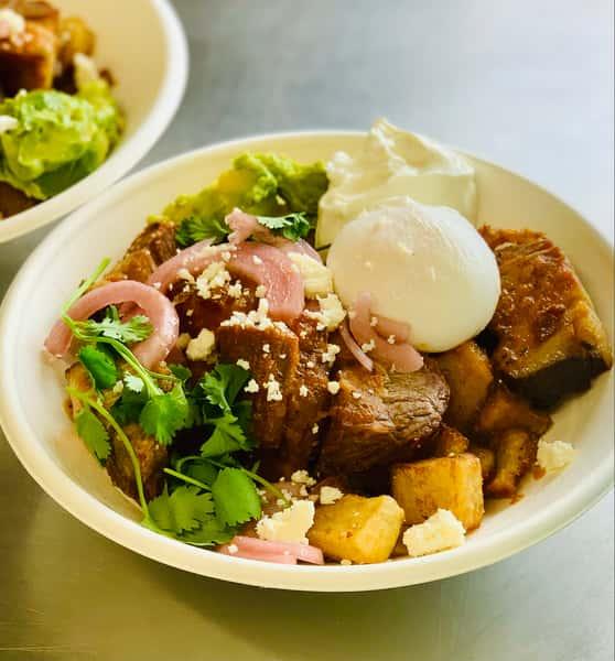 Pork Ranchero Bowl