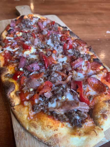 Carnivour Flatbread Pizza