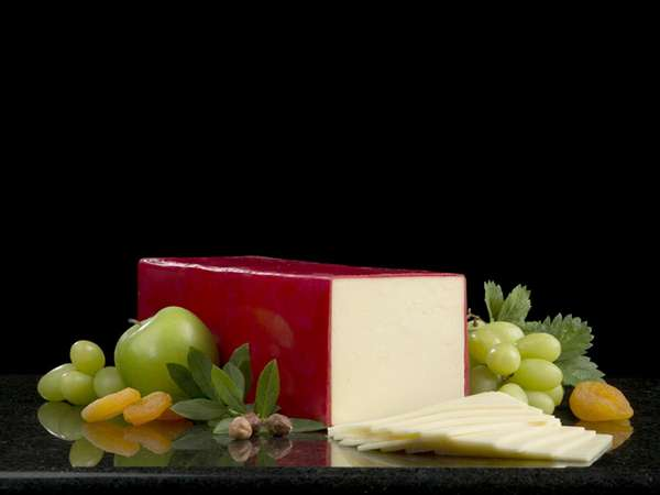 Red Wax Cheddar Cheese