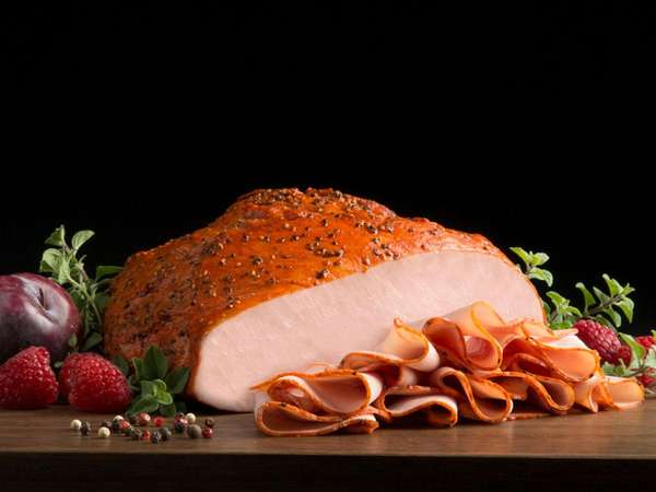 Cracked Pepper Mill Smoked Turkey Breast
