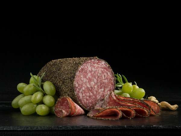 Uncured Peppered Salame
