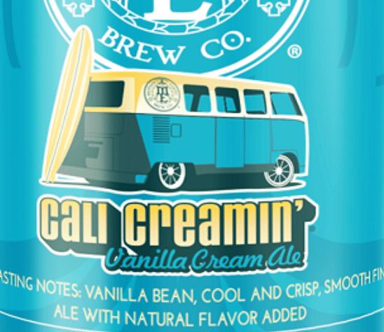 Cali Creamin' Nitro Vanilla Cream Ale