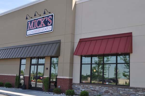 micks exterior of building