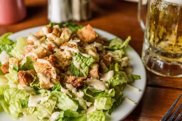 Caesar Salad with Grilled Chicken