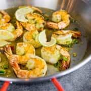 Gambas, Garlic Shrimp