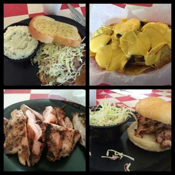 bbq food dishes