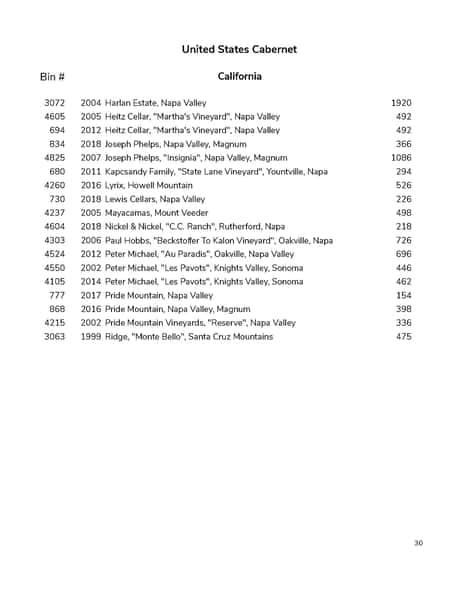 wine list pg 30