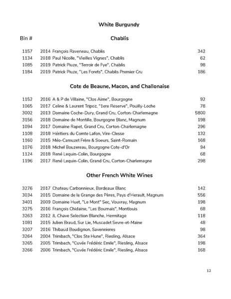 wine list pg 12