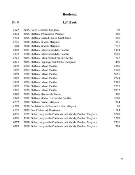 wine list pg 19