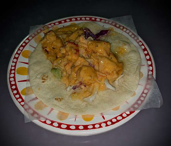 Lobster Roll Taco