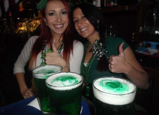 green beer and women