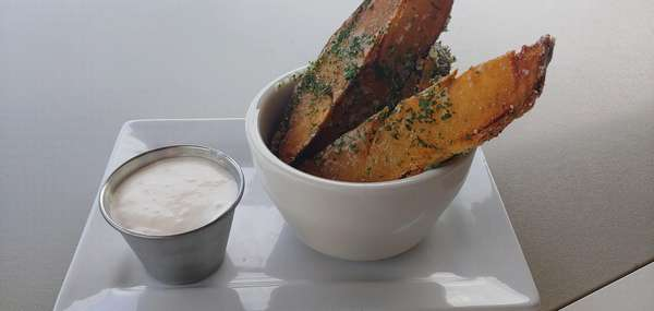 Truffle Potato Wedges (gf)