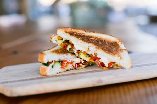 Lost Highway Veggie Grill Sandwich