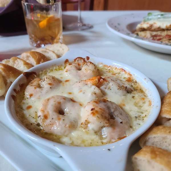 shrimp mozzarella