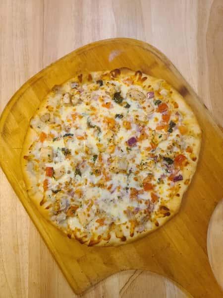 Chicken Bruschetta Pizza