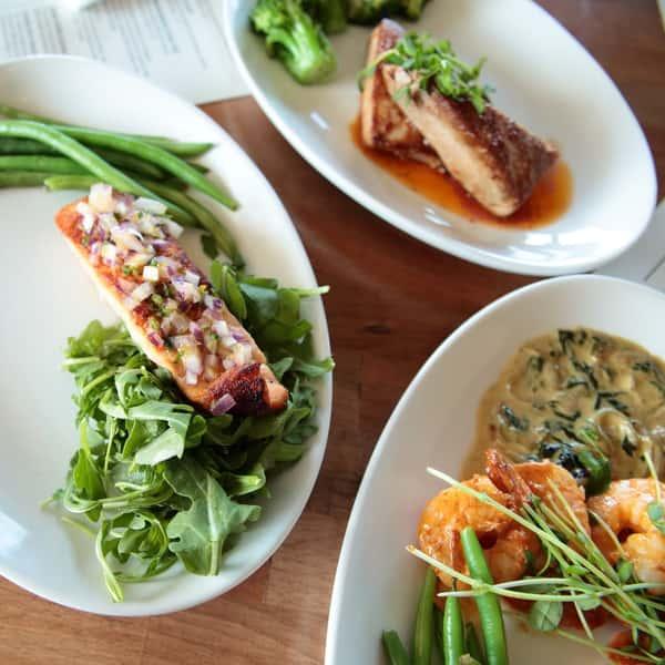 Pan-Seared Filet Salmon *
