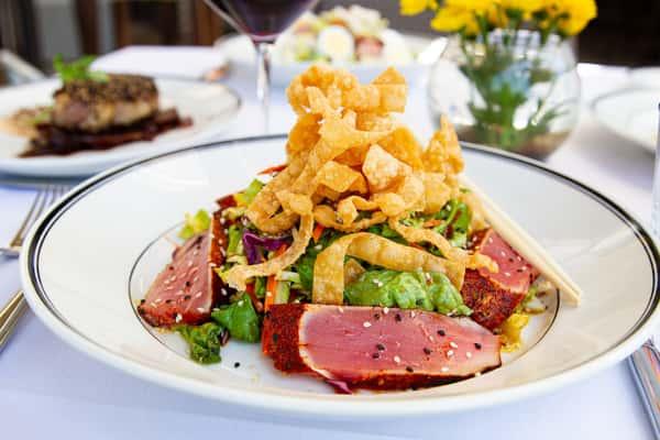 Hawaiian Ahi Nicoise Salad