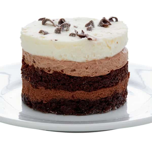 Chocolate Trilogy Cake