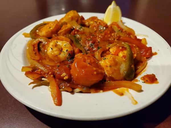 Shrimp & Scallop Fra Diavolo