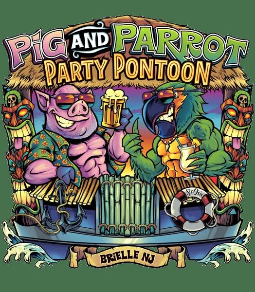 Party Pontoon Logo