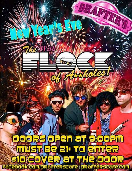 DEC 31 | MON - New Year's Eve with The Flock!