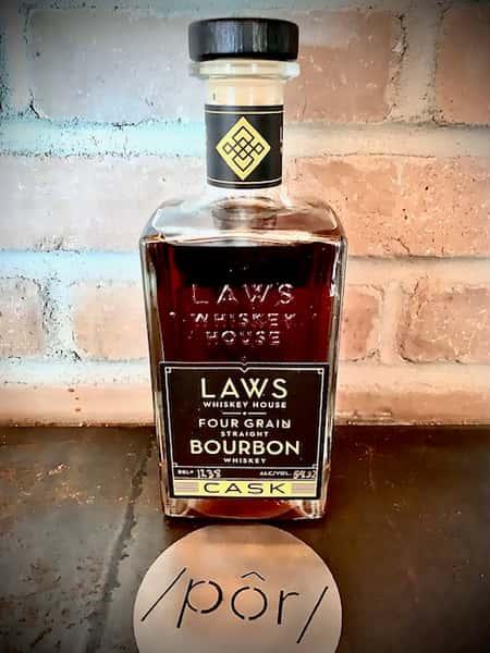 Laws Four Grain Straight Bourbon Cask