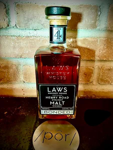 Laws Henry Road Straight Malt Whiskey Bonded