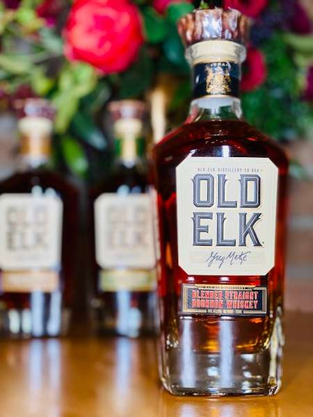 Old Elk Blended Bourbon Whiskey