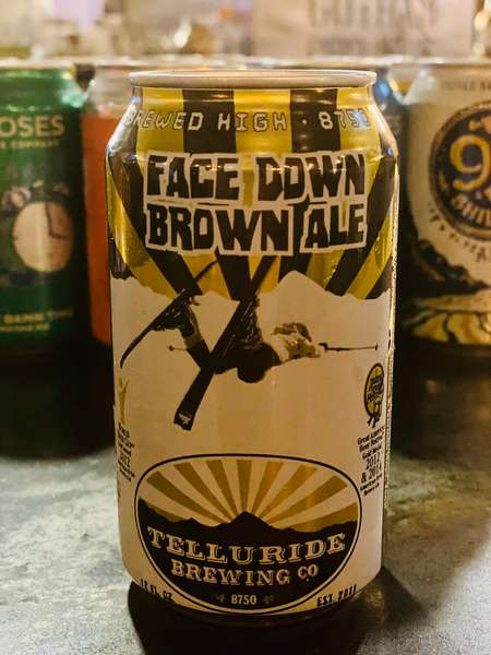 FACE DOWN BROWN