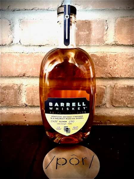 "Barrell Whiskey Private Release ""Malmsey Madera"" Finish"