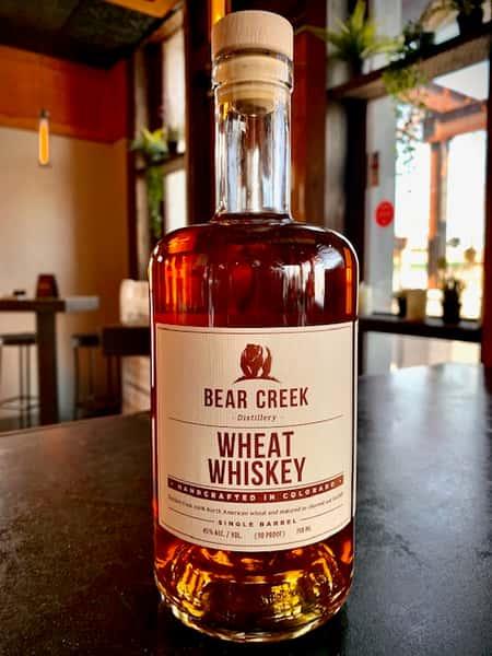 Bear Creek Wheated Whiskey
