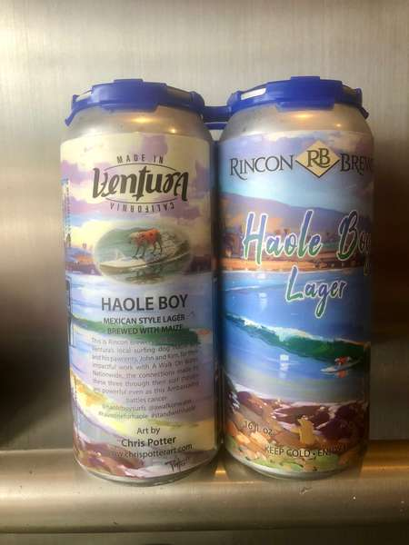 Haole Boy Lager 6 Pack