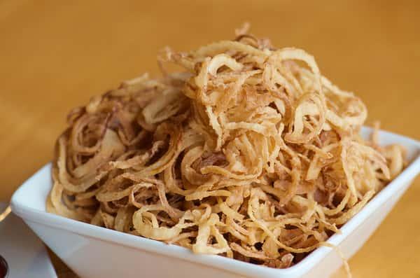 Golden Onion Strings