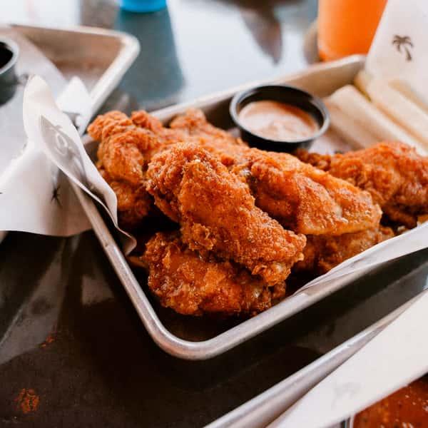Habanero BBQ Wings
