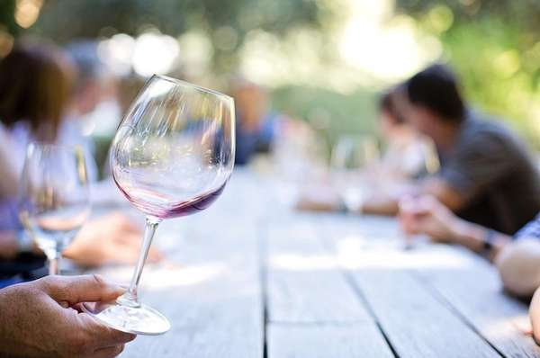 Wine by the glass & beer selections