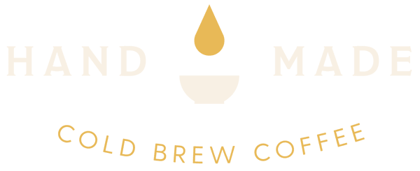 Hand Made cold brew coffee logo