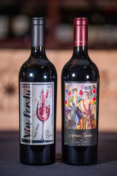 vin perdue wine bottles