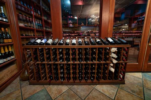 ca rack wine bottles