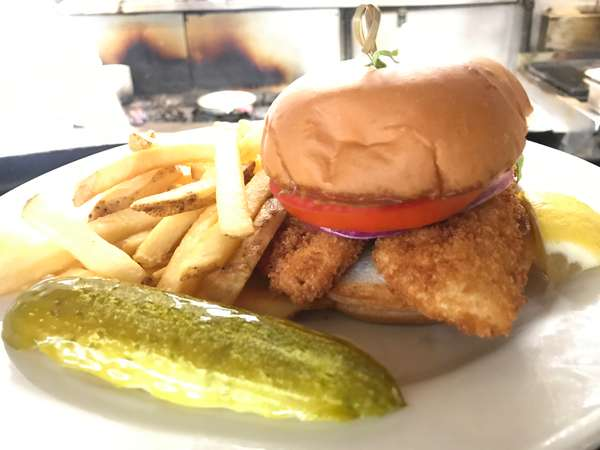 Fried Yellow Perch Sandwich