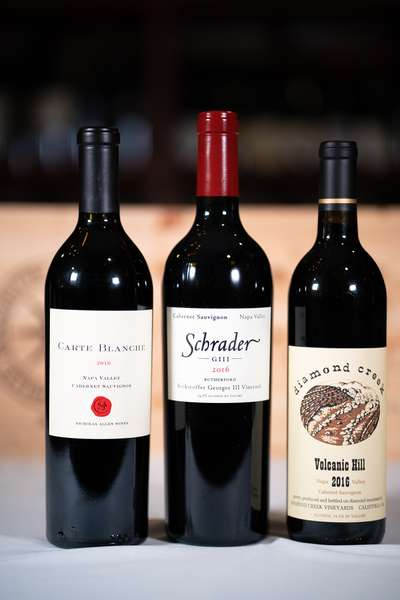 ca bottles of wine