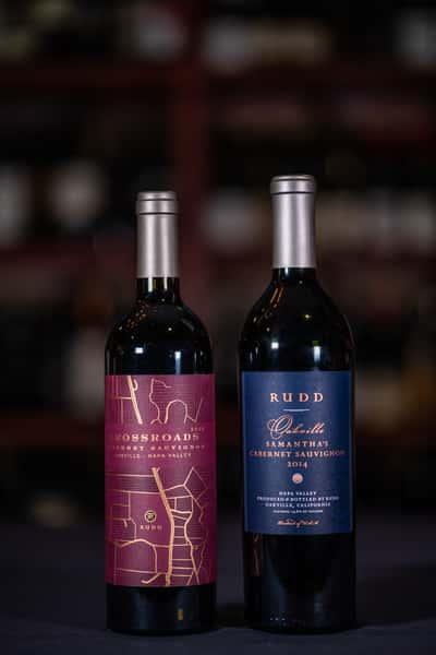 ca rudd wine bottles