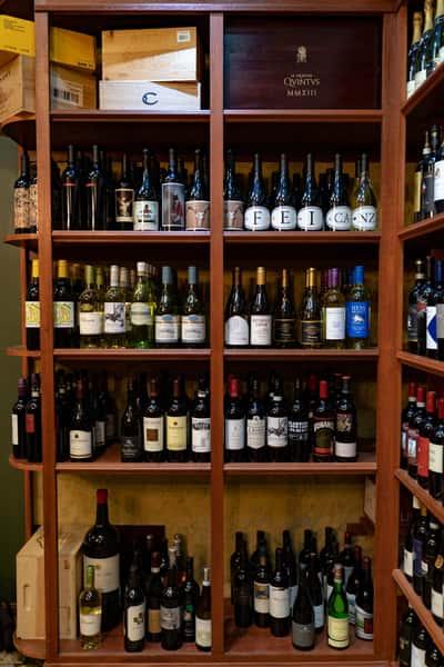swift house wine bottles