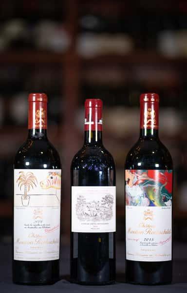 bord 2 wine bottles