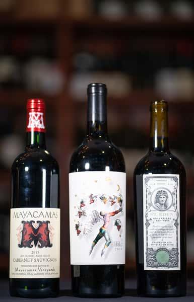 ca 3 bottles of wine