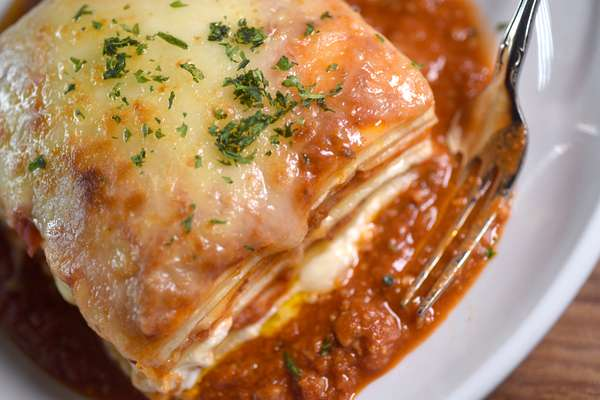 Our Famous Housemade Lasagna