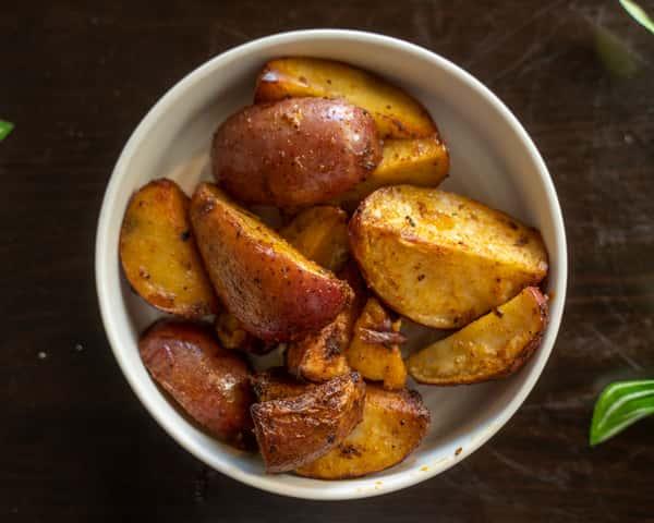 Roasted Redskin potatoes