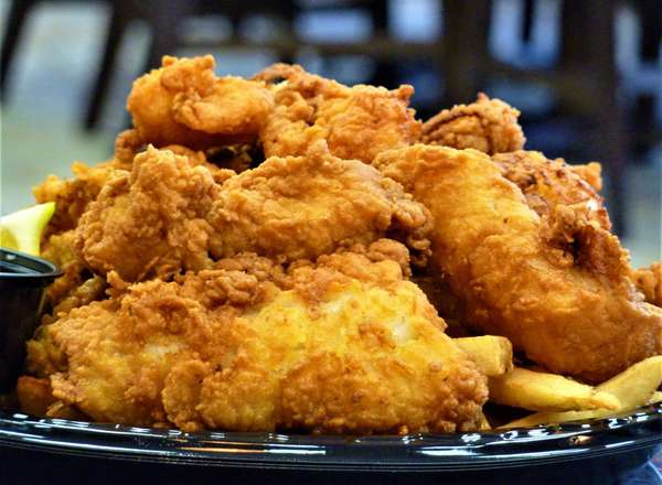Captain's Seafood Platter