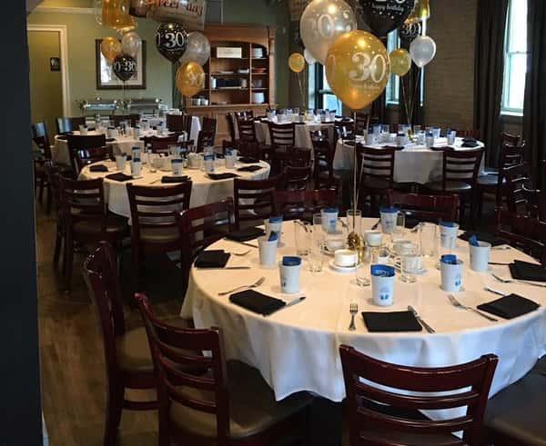 example banquet photo