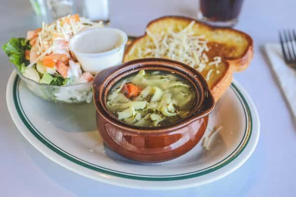 Soup & Side Salad